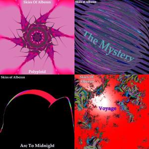 Album art for 1st 4 songs by Skies Of Alberon on SoundsGoodMan Records SoundsGoodManRecords.com